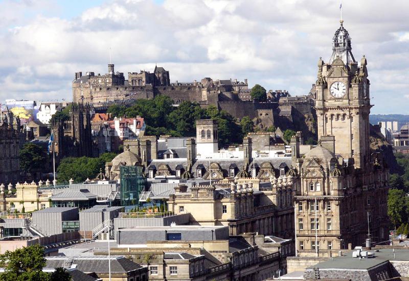 Столица Шотландии — Эдинбург
